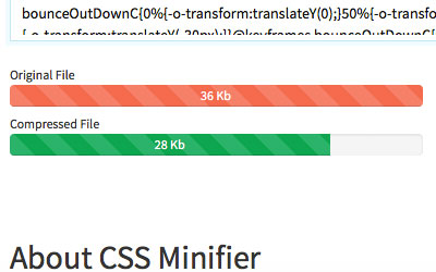Compress HTML, Javascript and CSS Code