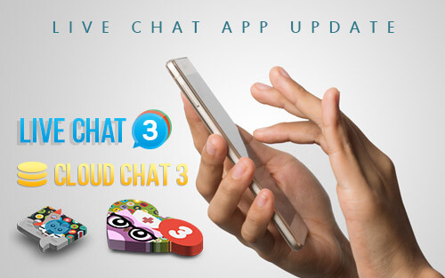 Live Chat App - Update
