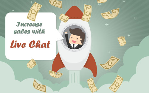 Increase sales with Live Support Chat