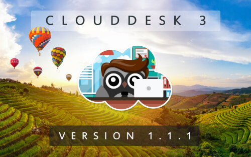Cloud Desk 3 - Version 1.1.1