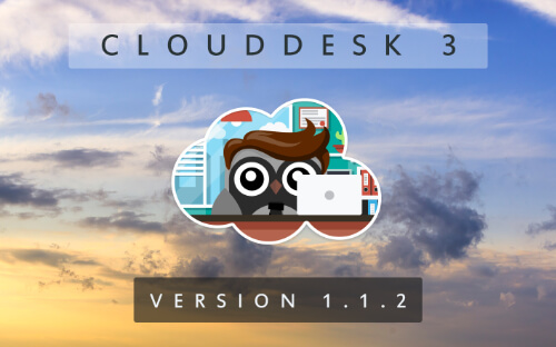 Cloud Desk 3 - Version 1.1.2