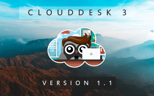 Cloud Desk 3 - Version 1.1