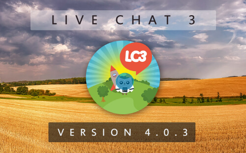Live Chat 3 - Version 4.0.3