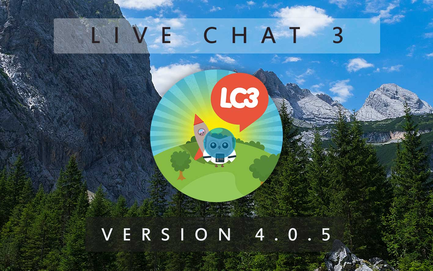 Live Chat 3 - Version 4.0.5