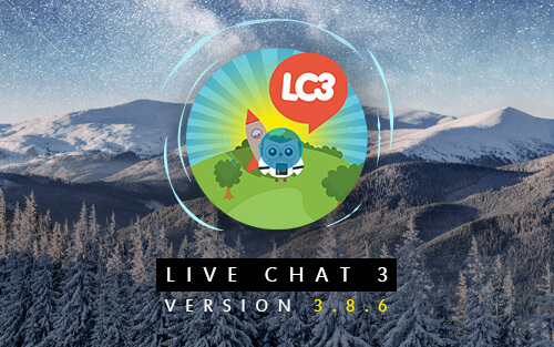 Live Chat 3 - Version 3.8.6