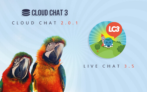 CloudChat 3 and LiveChat 3