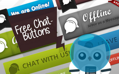 Live Support Chat Buttons