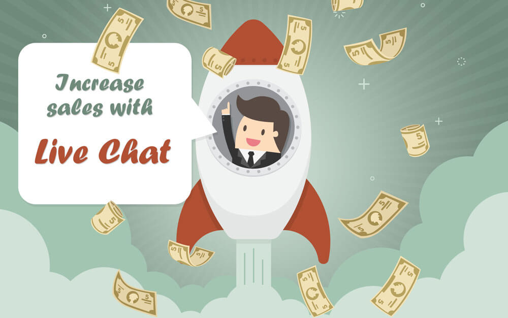 increase sales with live chat 3