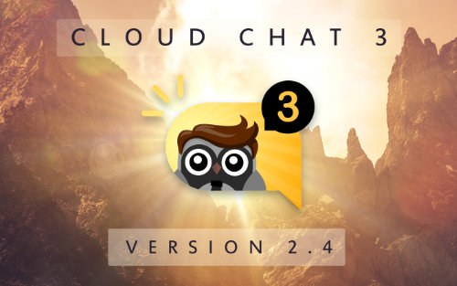 Cloud Chat 3 - Version 2.4