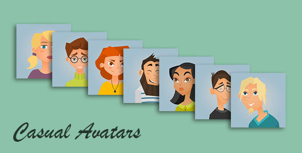 Live Chat Casual Avatars