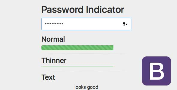 Password Indicator BS4